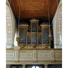 MDA - St. Georgenkirche Gottfried Silbermann Organ