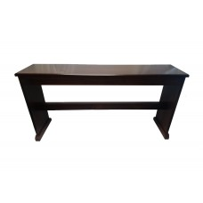 Red Walnut Solid Wood Bench